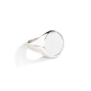 Oval Signet Ring - SMITH Jewellery
