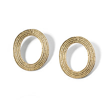 Load image into Gallery viewer, Oval Studs | SMITH Jewellery