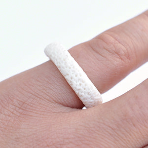 Porcelain Impression Ring | SMITH Jewellery