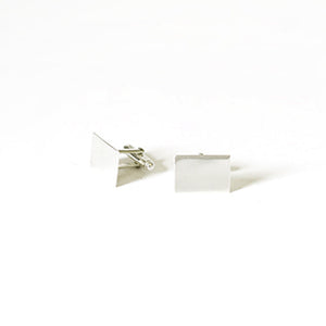 Rectangle Silver Cufflinks | SMITH Jewellery