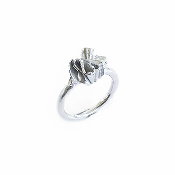Ruffled Silver Ring | SMITH Jewellery
