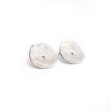 Load image into Gallery viewer, Silver Disk Studs | SMITH Jewellery