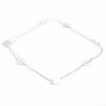 Silver Square Necklace | SMITH Jewellery