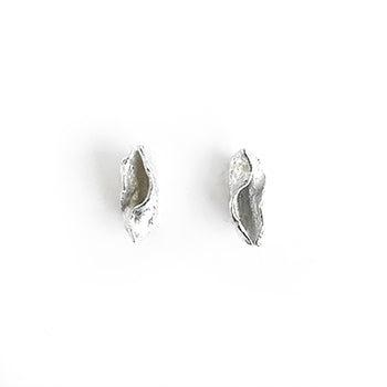 Small Seaweed Studs | SMITH Jewellery