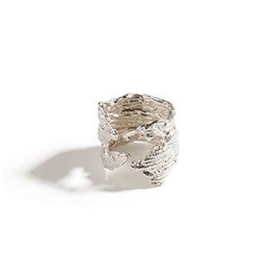 Rippled Seaweed Ring | SMITH Jewellery