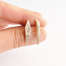 Load image into Gallery viewer, Silver Shard Studs | SMITH Jewellery