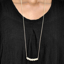 Load image into Gallery viewer, Skeleton Gilt Long Necklace | SMITH Jewellery