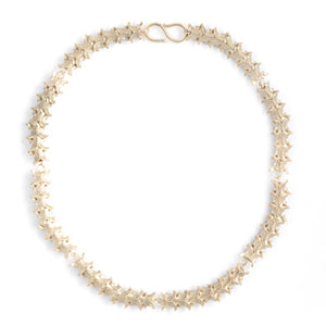 Skeleton Gilt Necklace | SMITH Jewellery