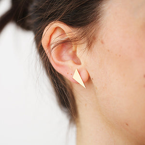 Gilt Geo Studs | SMITH Jewellery