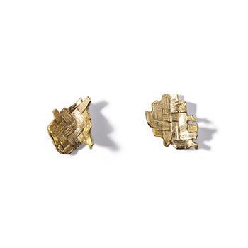 Small Woven Studs | SMITH Jewellery