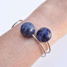 Load image into Gallery viewer, Sodalite Bangle | SMITH Jewellery