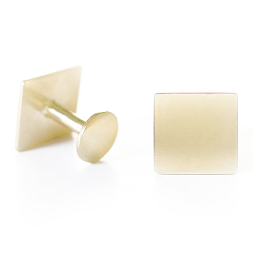 Hugh Gilt Cufflinks | SMITH Jewellery