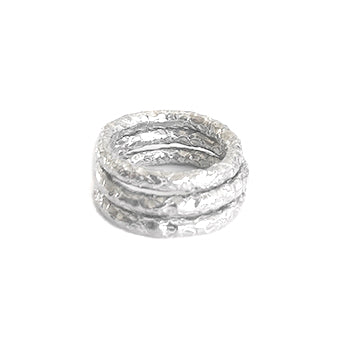 Textured Stacking Shell Rings | SMITH Jewellery