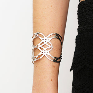 Tile Silver Cuff | SMITH Jewellery