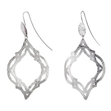 Load image into Gallery viewer, Tile Silver Earrings | SMITH Jewellery