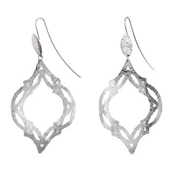 Tile Silver Earrings | SMITH Jewellery