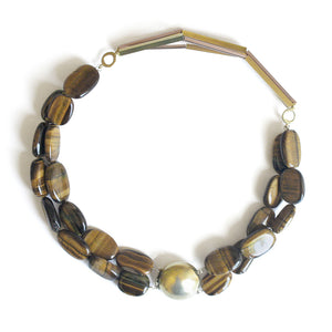 Tribal Tigers Eye Necklace | SMITH Jewellery