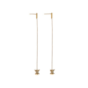 Vertebrae Drop Studs | SMITH Jewellery