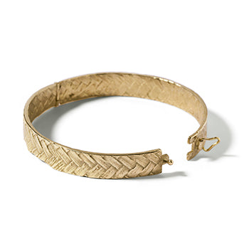 Woven Bangle | SMITH Jewellery