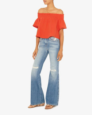 Current/Elliot Flare Leg Jeans