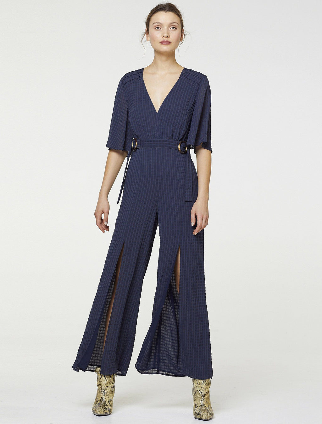 Stevie May Belted Jumpsuit