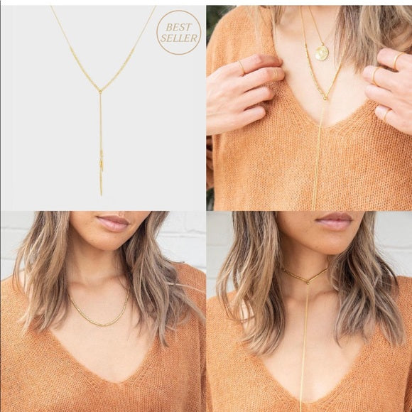Gorjana Laguna Convertible Lariat Necklace