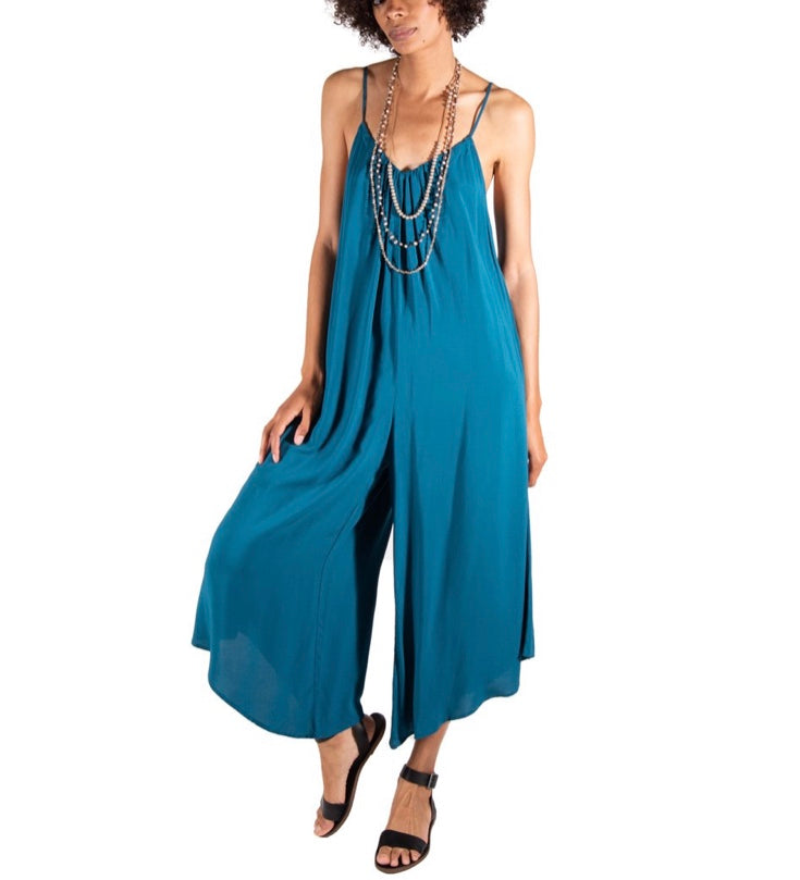 Tysa Wide Leg Jumpsuit