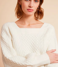 Load image into Gallery viewer, FRNCH Winter White Sweater