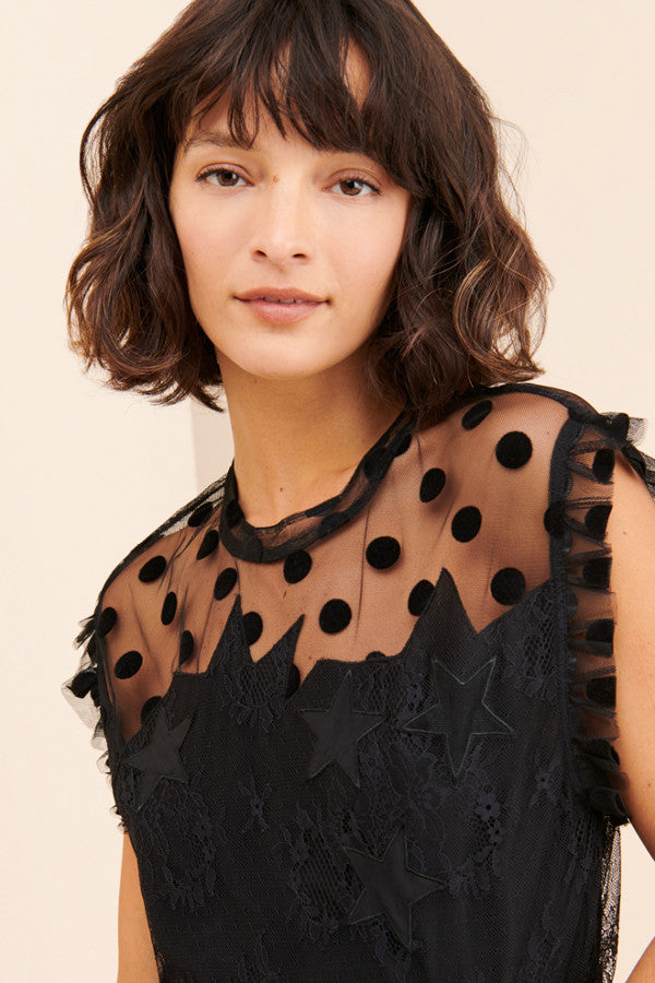 Zadig and Voltaire Tetro Lace Top