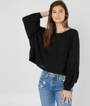 Free People Open Back Thermal Top
