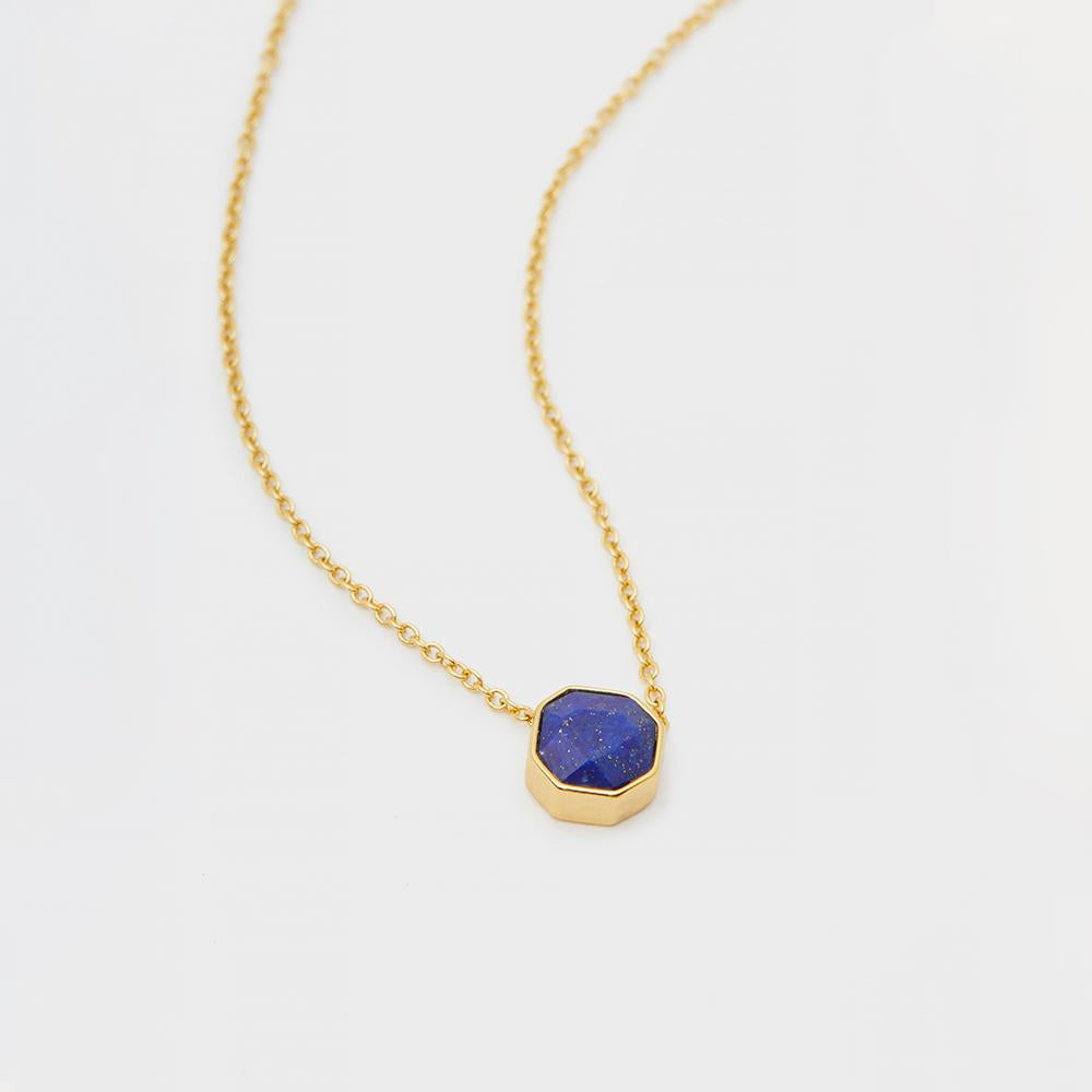 Gorjana Lapis Power Gemstone Necklace