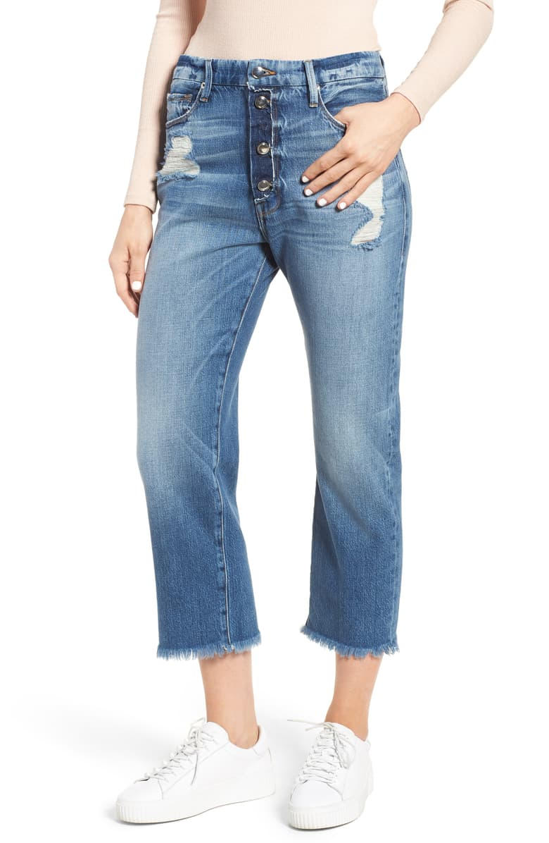 Good American High Waist Boyfriend Jeans