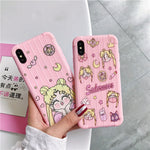 Sailor Moon Kawaii iPhone Case - AnimeXpres
