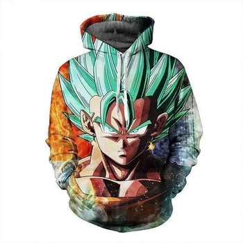 Dragon Ball Vegeta Hoodie | NOT Found in Stores!