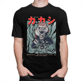 Kakashi Hatake 100% Cotton Sharingan T-Shirt