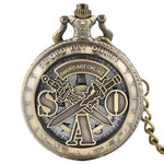 Retro SAO Pocket Watch - AnimeXpres