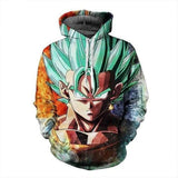 Dragon Ball Vegeta Hoodie | NOT Found in Stores! - AnimeXpres