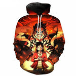 One Piece Monkey Luffy Hoodies | NOT Found in Stores! - AnimeXpres