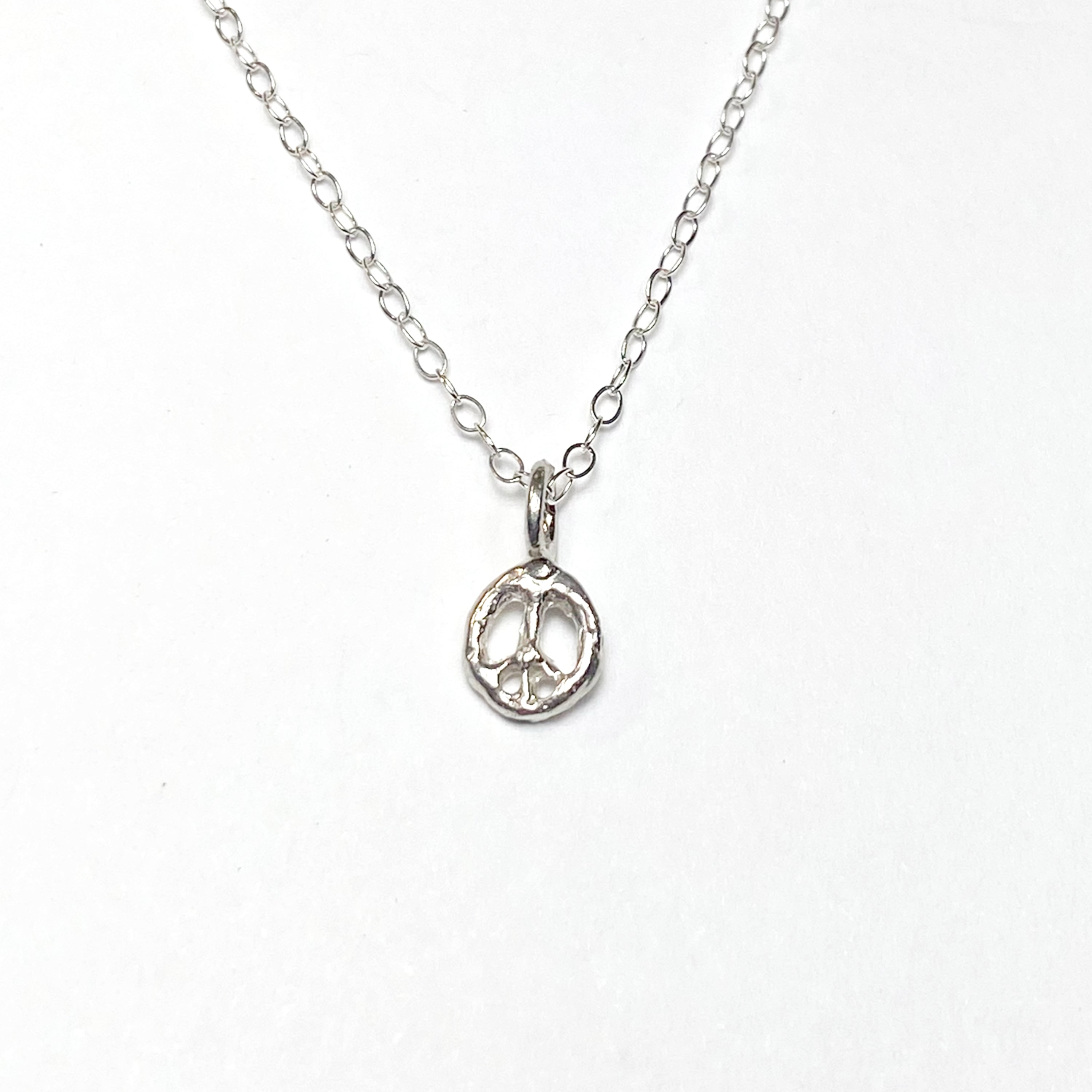 Mini Peace Moon Necklace