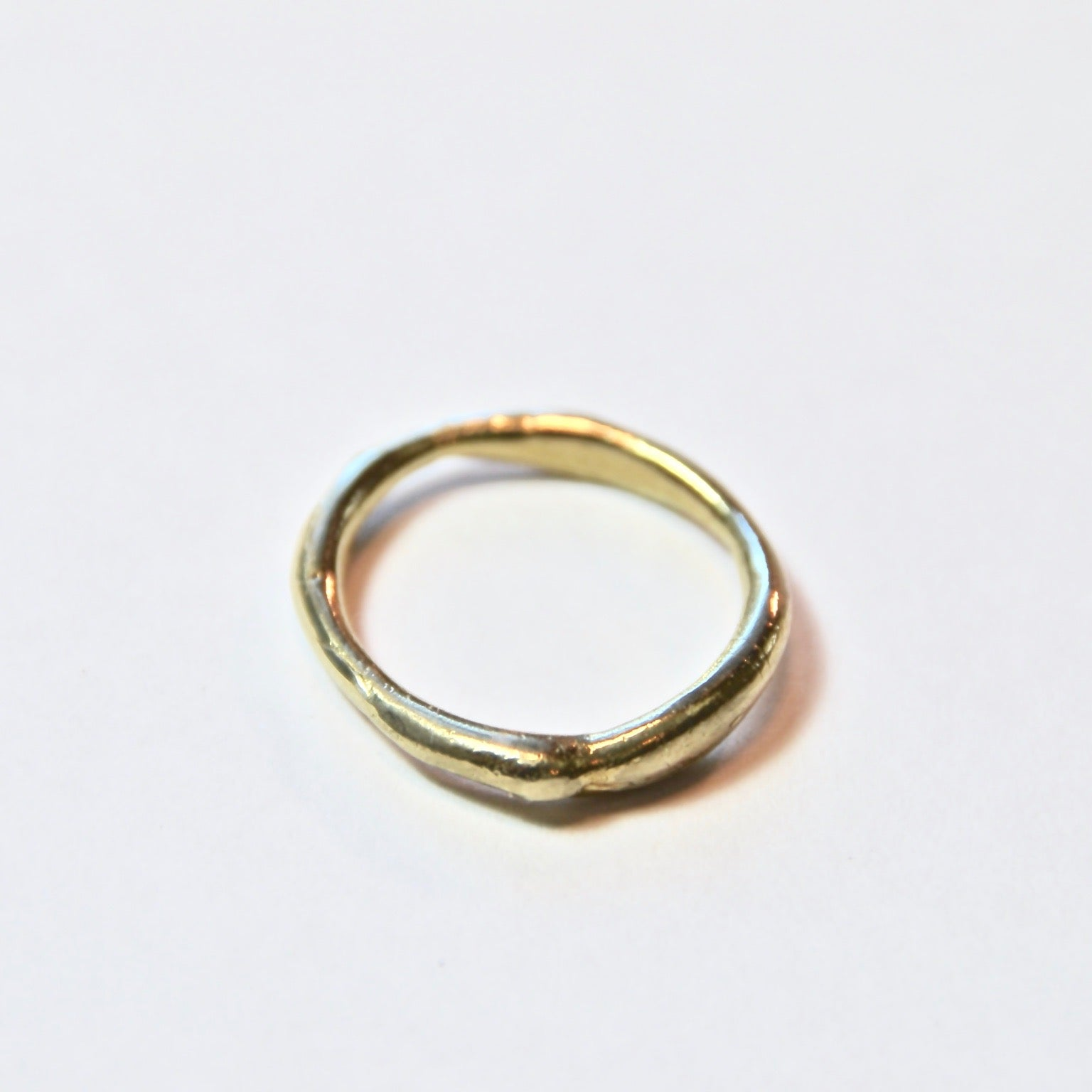 14k Solid Gold Pacific Ring