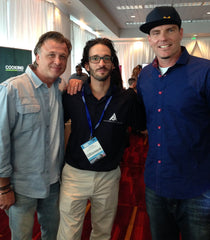 Stephen Giumenta, Stephen Fanuka & Vanilla Ice at Scripps Network lunch for IBS 2014