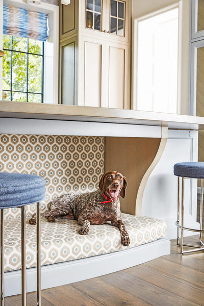 House Beautiful Whole Home Concept House Kitchen Dog Bed