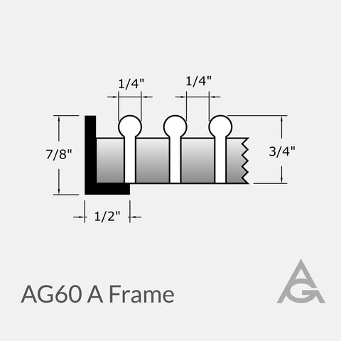 AG60 Green Bar Grille