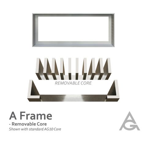 A Frame: Removable Core