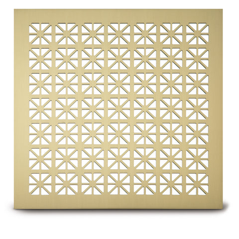 "202 Grecian Perforated Grille: 1¼"" pattern - 39% open area"