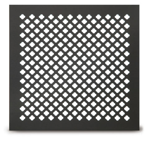 "204 Clover Leaf Perforated Grille: ½"" x ¼"" pattern - 52% open area"