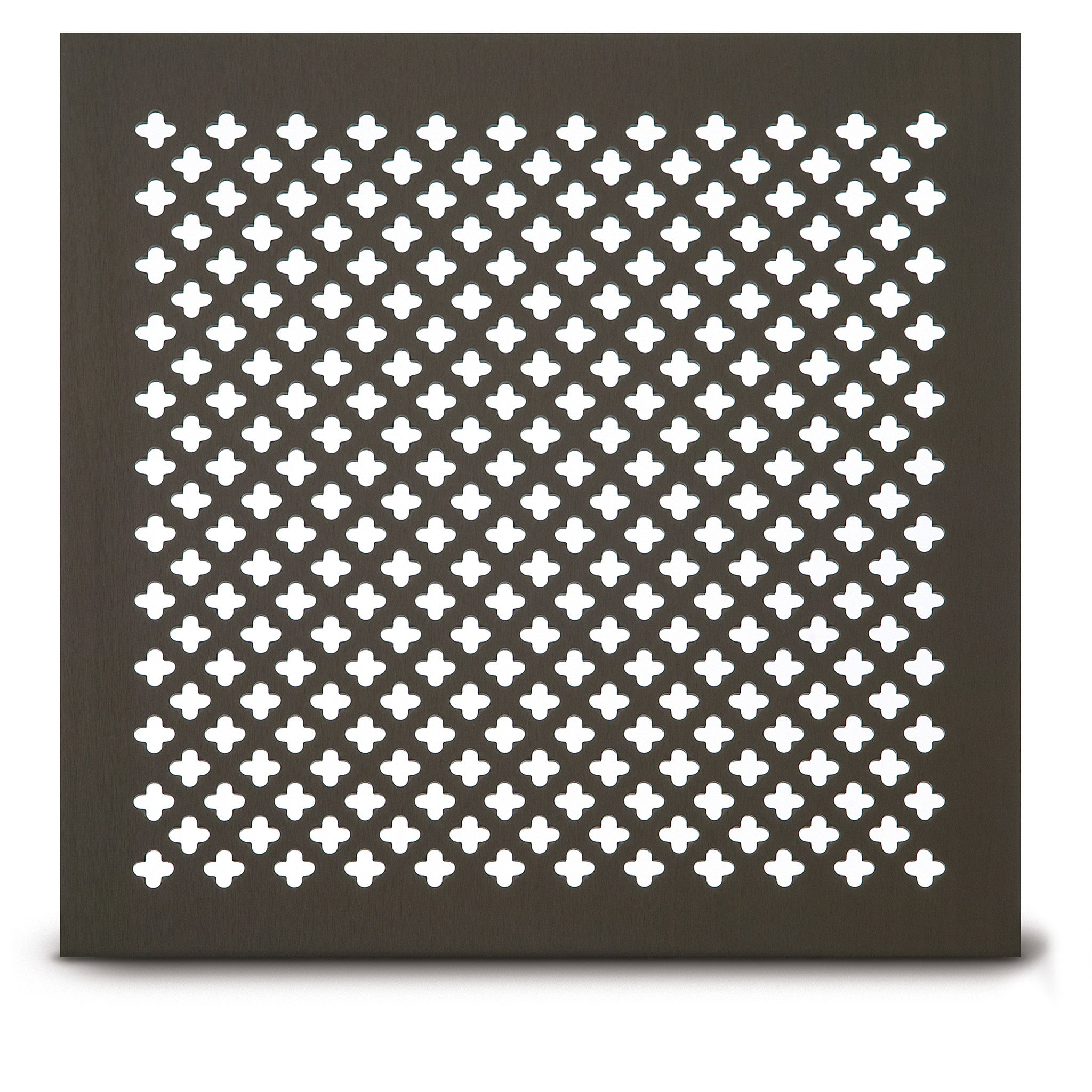 204 clover leaf perforated grille | architectural grille