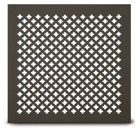 "204 Clover Leaf Perforated Grille: ½"" x 3/16"" pattern - 51% open area"