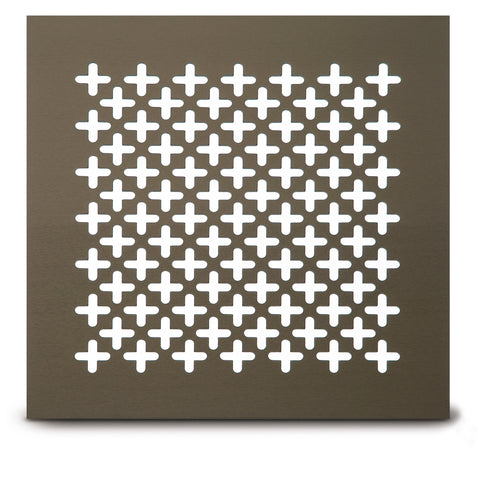 "204 Clover Leaf Perforated Grille: 1"" pattern - 50% open area"