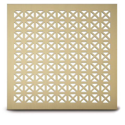 "206 Maltese Perforated Grille: 15/16"" pattern - 38% open area"